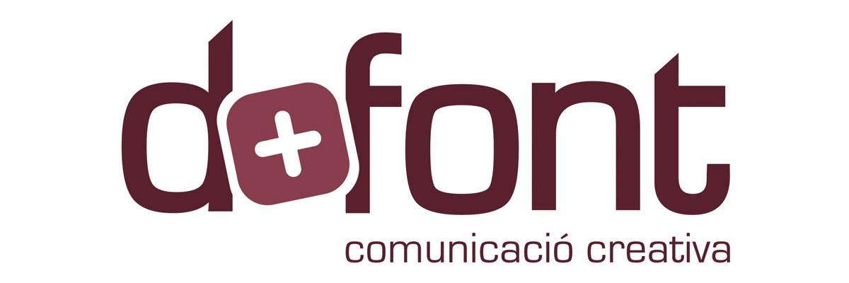 Logotip de D+FONT