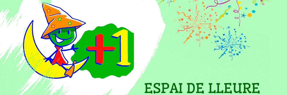 Logotip de Espai de Lleure +1