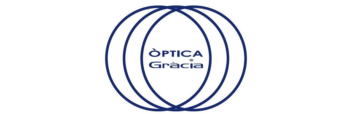 Logotip d'Òptica Gràcia