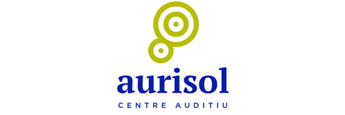 Logotip de Aurisol centre auditiu