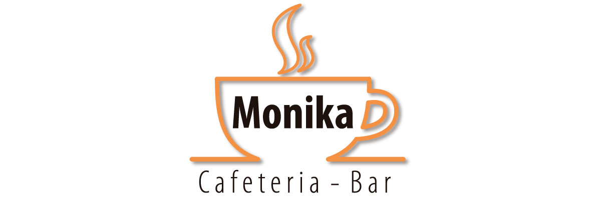 Logotip de Cafeteria Monika