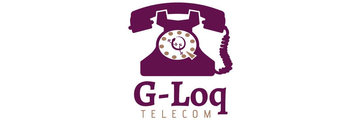 Logotip de G-LOQ TELECOM