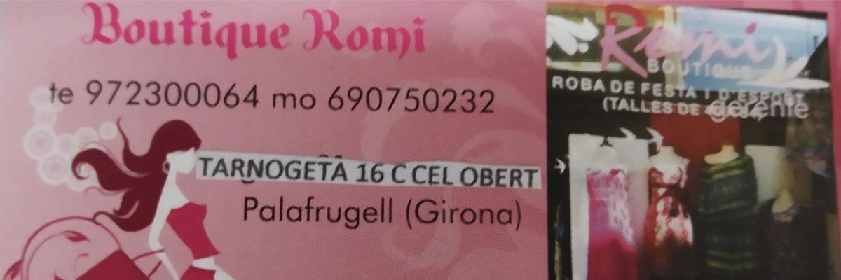 Logotip de Boutique Romi