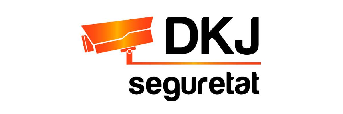 Logotip de DKJ Seguretat
